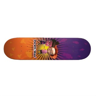 Purple and Nine Skateboard