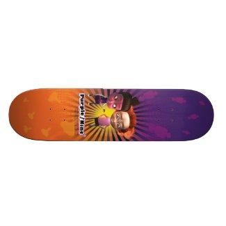 Purple and Nine Skateboard