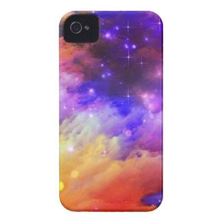 Purple and orange cosmos Case-Mate iPhone 4 case