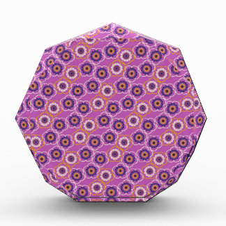 Purple and Orange Floral Pattern Gifts