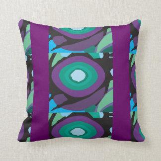 Purple and Orange Pod Pillow
