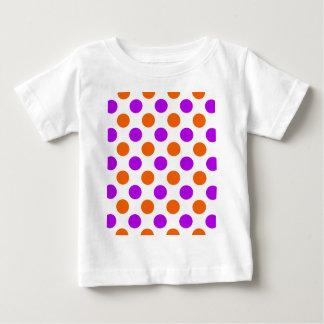 Purple and Orange Polka Dots Shirts