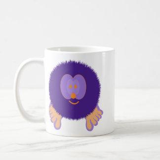 Purple and Orange Pom Pom Pal Mug