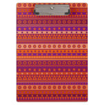 Purple and Orange Stripy Pattern