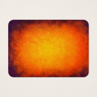 Purple and orange sunset texture business card