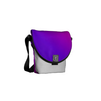 Purple and Pink Blend Courier Bag