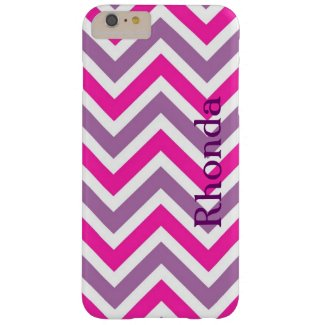 Purple and Pink Chevron iPhone 6 Plus Case
