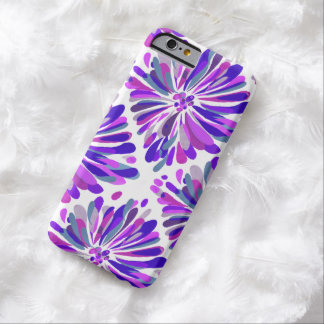Purple and Pink Chrysanthemum Barely There iPhone 6 Case