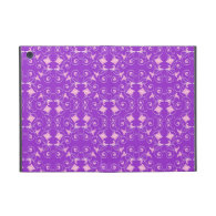 Purple And Pink Floral Pattern Cover For iPad Mini