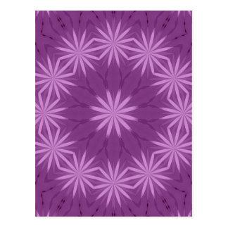 Purple and Pink Garden Postcard