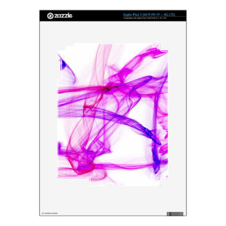 Purple and pink ink in water skin for iPad 3