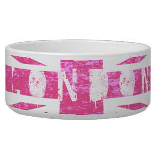 Purple and Pink London, Dog Bowl