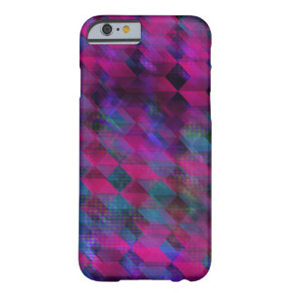 Purple and Pink Pattern Barely There iPhone 6 Case