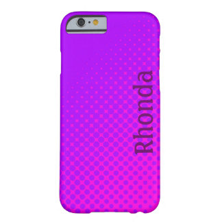 Purple and Pink Polka Dots iPhone 6 Case
