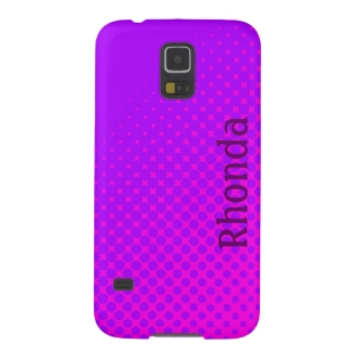 Purple and Pink Polka Dots Samsung Galaxy S5 Case