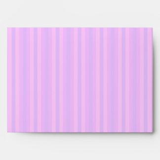 Purple and Pink Stripey Hippie Pattern Envelope