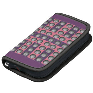Purple and Pink with Grey Dots Organizers