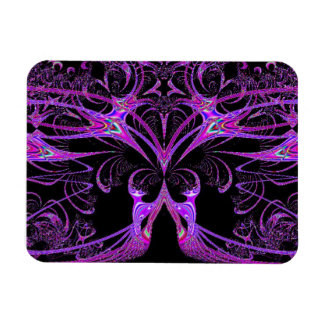 Purple And Pink Wizardry Magnet