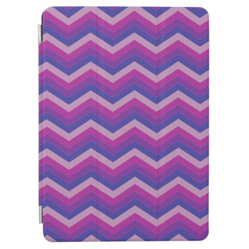 Purple and pink zigzag pattern. iPad air cover