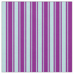 [ Thumbnail: Purple and Powder Blue Colored Pattern Fabric ]
