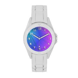 Purple and Powder Blue Design Wrist Watches