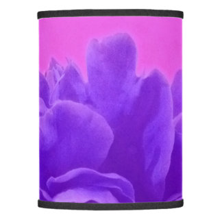 Purple and Raspberry Floral Art Lamp Shade