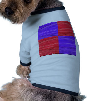 Purple and Red Lines Design. Digital Art creation Shirt