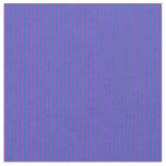 [ Thumbnail: Purple and Teal Colored Lined/Striped Pattern Fabric ]