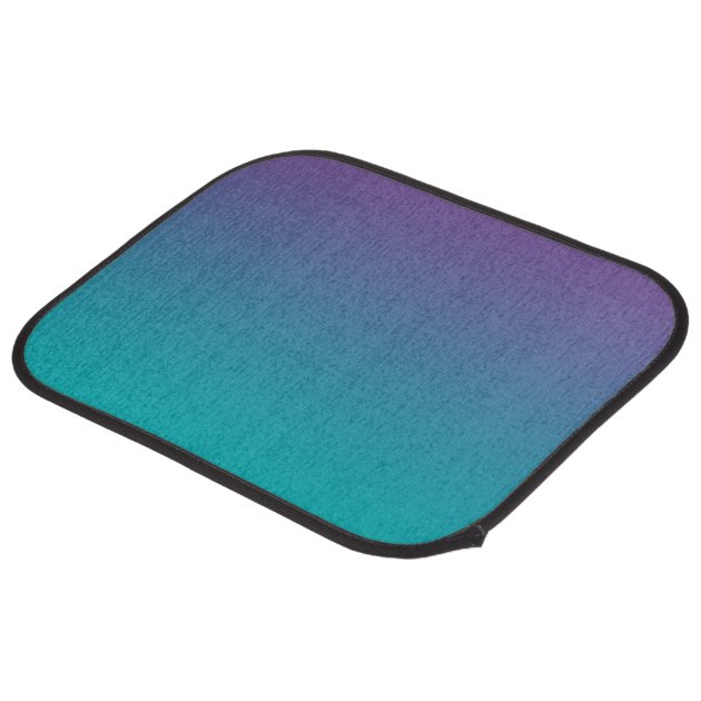 Purple And Teal Ombre Car Floor Mat Zazzle