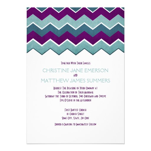 Purple And Teal Wedding Invitations was very inspiring ideas you may choose for invitation ideas