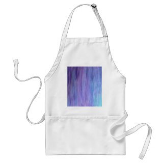 Purple and Turquoise Fusion Adult Apron
