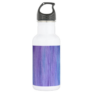Purple and Turquoise Fusion Water Bottle