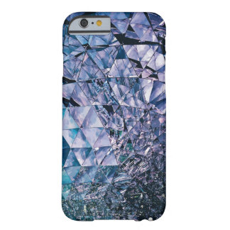 Purple and turquoise, TRIANGLE and reflections Barely There iPhone 6 Case