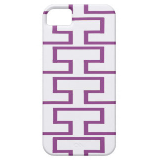 Purple and White Bricks iPhone 5 Case