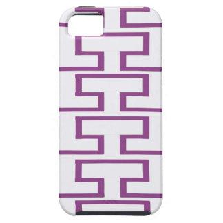 Purple and White Bricks iPhone 5 Cases
