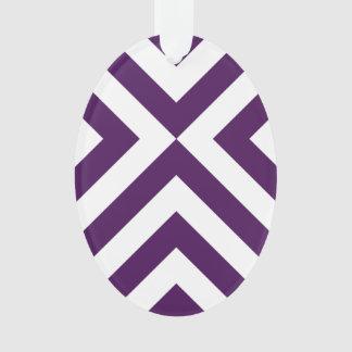 Purple and White Chevrons