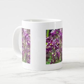 Purple and White Columbines Specialty Mug