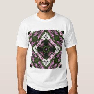 Purple and White Daisies Kaleidoscope 10 Tee Shirt