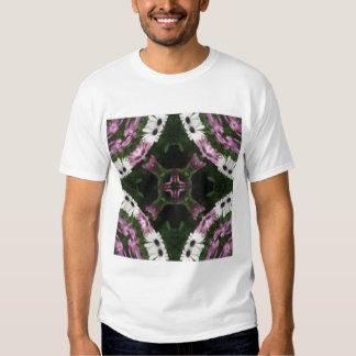 Purple and White Daisies Kaleidoscope 11 Shirt