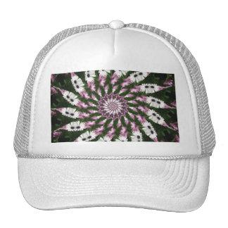 Purple and White Daisies Kaleidoscope 2 Trucker Hat