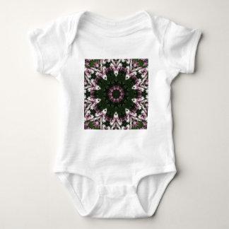 Purple and White Daisies Kaleidoscope 8 T-shirt
