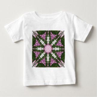 Purple and White Daisies Kaleidoscope 9 T-shirt