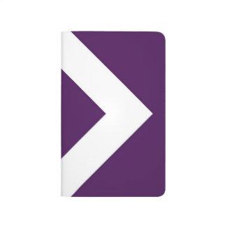 Purple and White Diamond Pattern Journals
