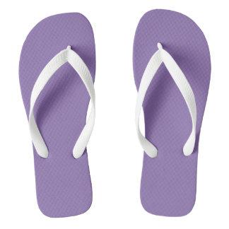 Purple and White flip-flops Flip Flops