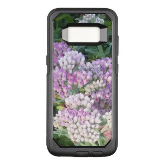 Purple and White Flowered OtterBox Commuter Samsung Galaxy S8 Case