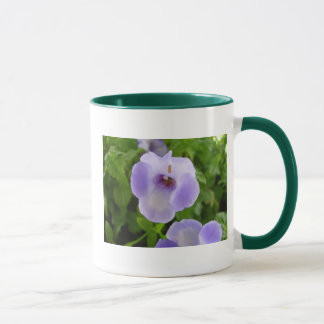 Purple and White Flowers Mug