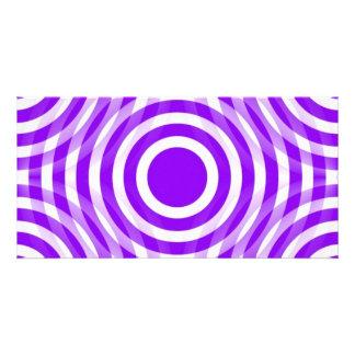 purple_and_white_interlocking_concentric_circles tarjeta fotografica