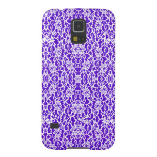 Purple and White Lace Samsung Galaxy S5 Case