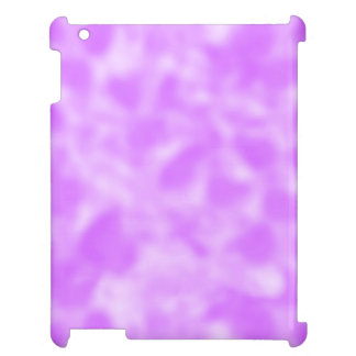 Purple and White Mottled iPad Cases