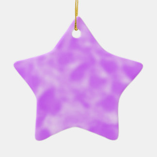 Purple and White Mottled Ornaments